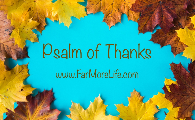 Psalm of Thanks